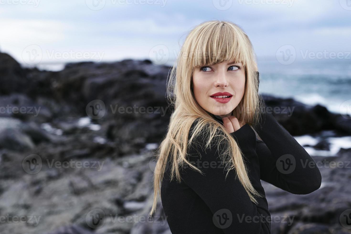 beleza de preto foto