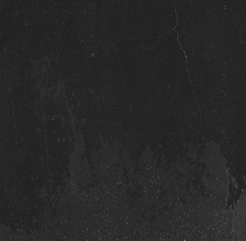 textura de parede preta limpa foto