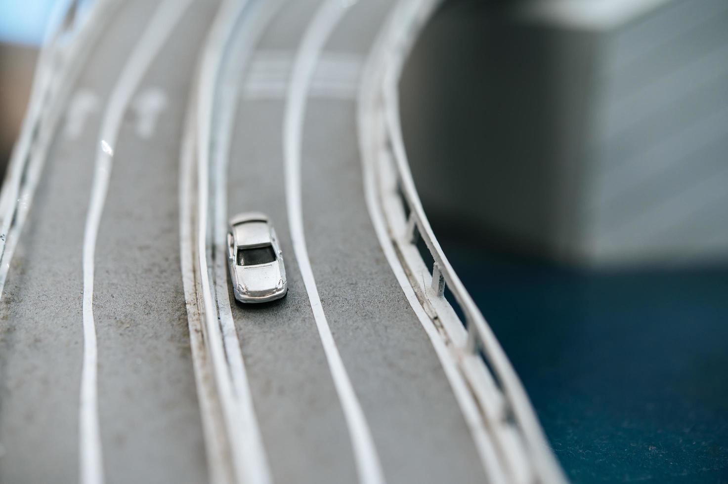ponte de mudança de inclinação em miniatura foto