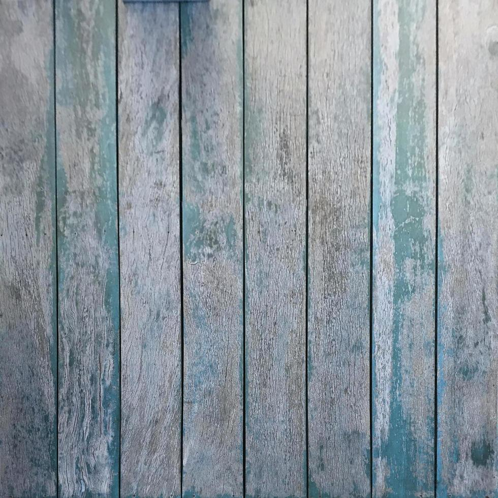 textura de madeira azul foto