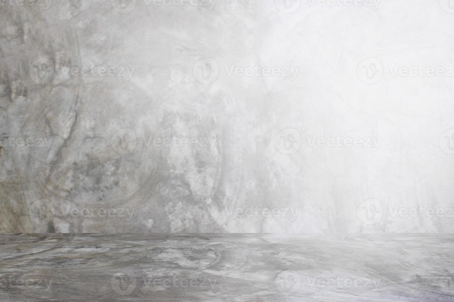 parede cinza de fundo de estúdio de cimento para produto de apresentação foto