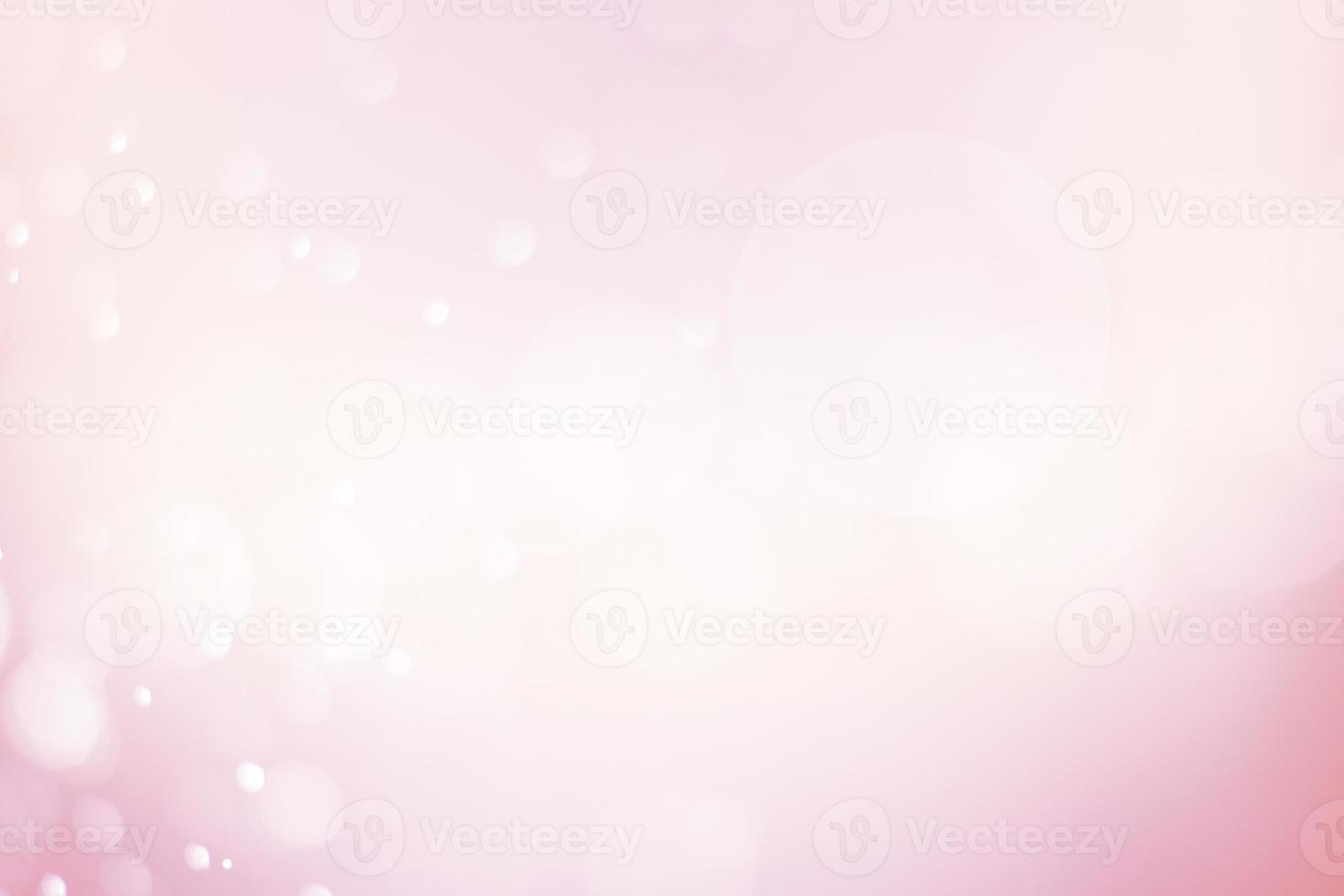 desfoque suave bokeh rosa abstrato foto