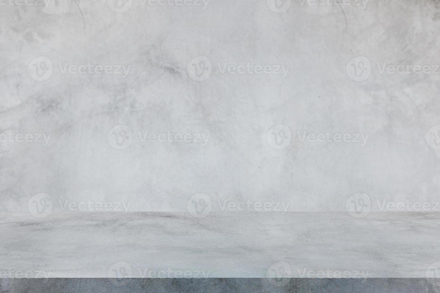 parede de cimento e fundo interior do piso do estúdio foto