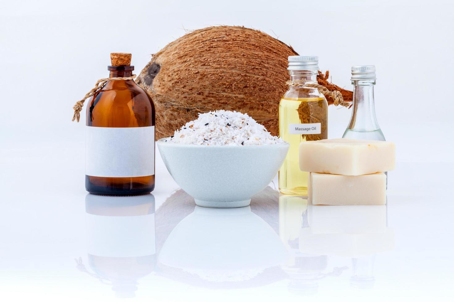 óleos essenciais de coco foto