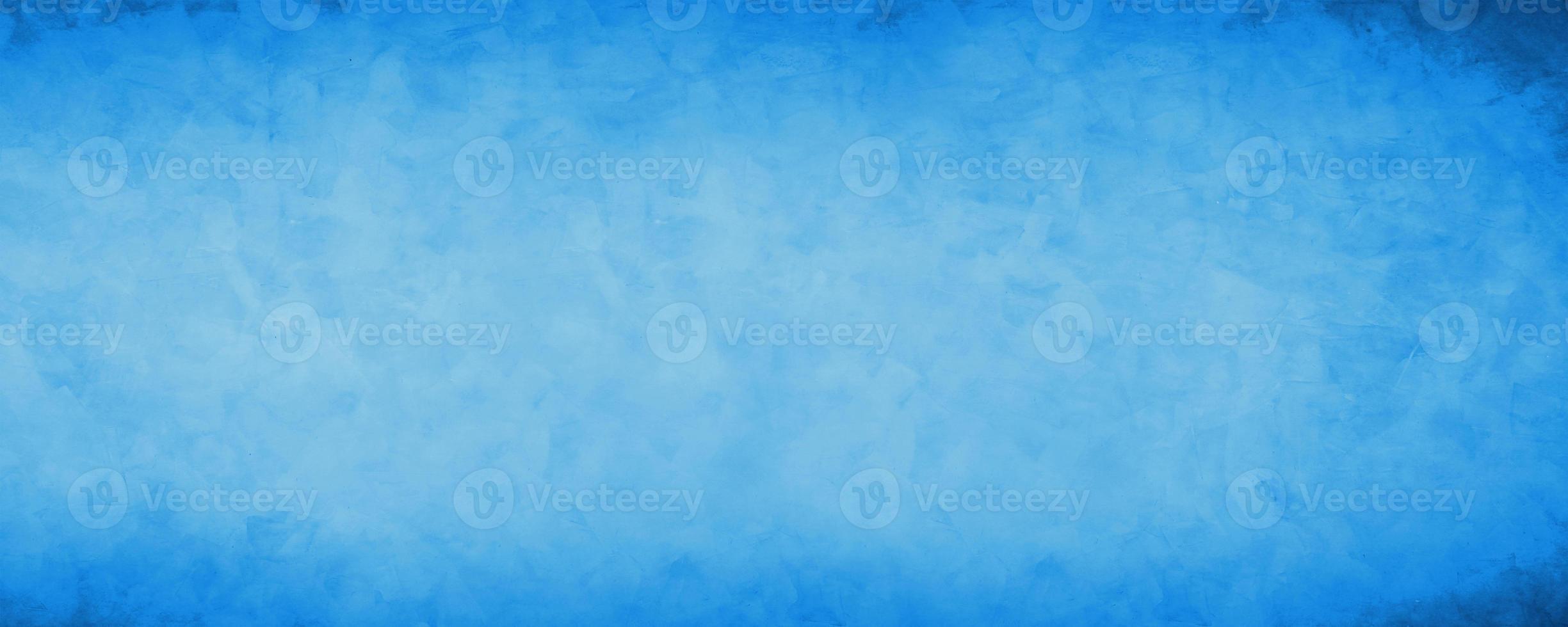fundo de parede de cimento grunge azul escuro foto