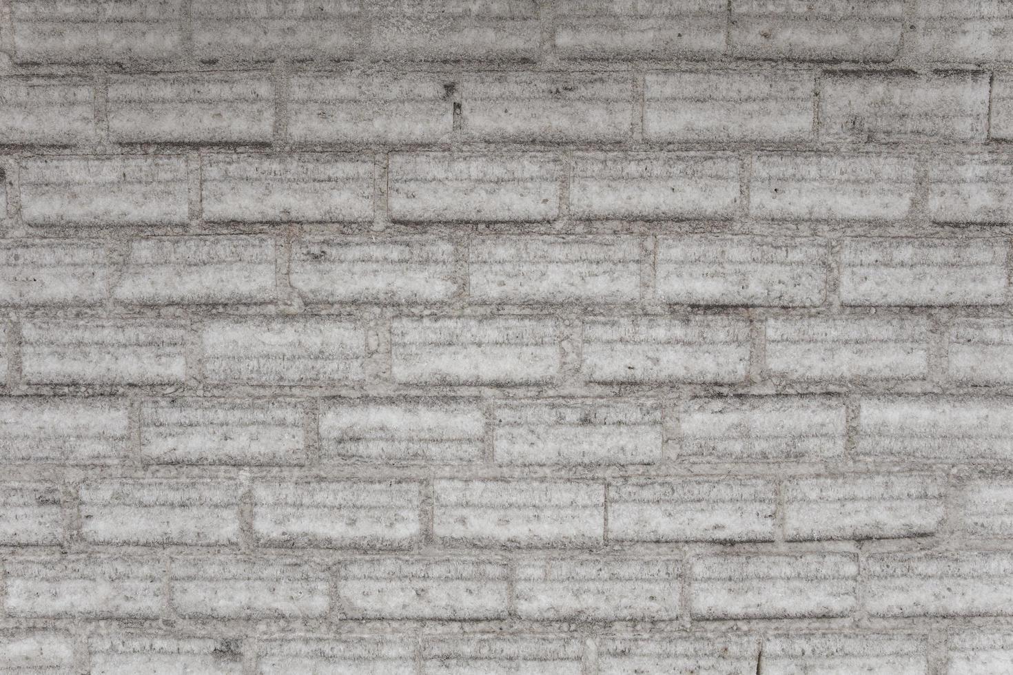 parede de tijolos brancos vintage foto