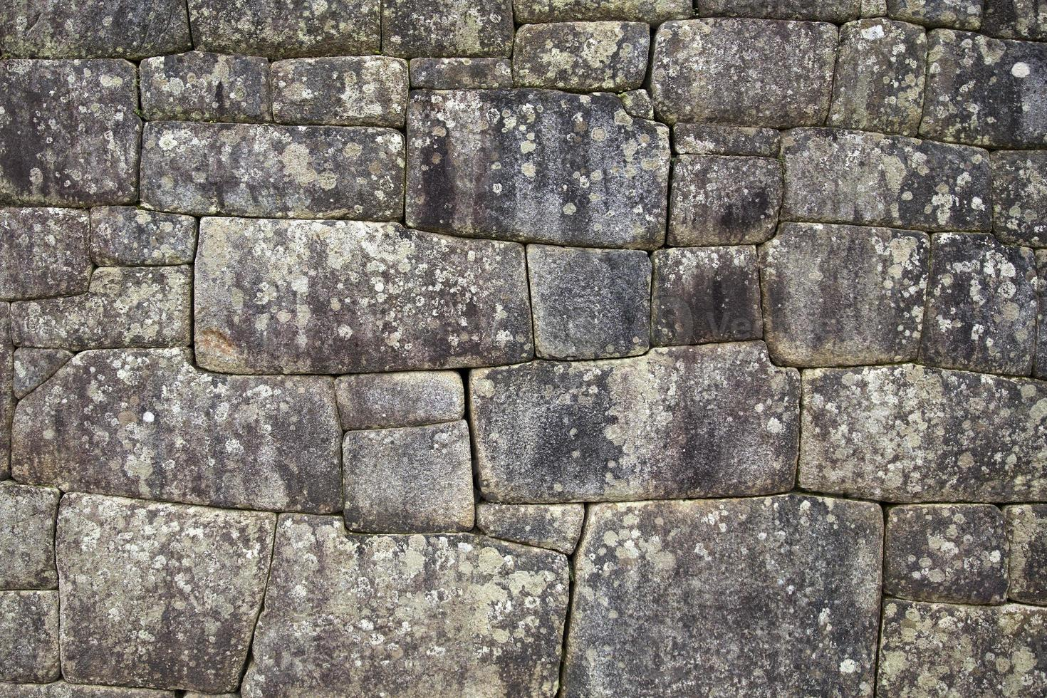 velho muro de pedra foto