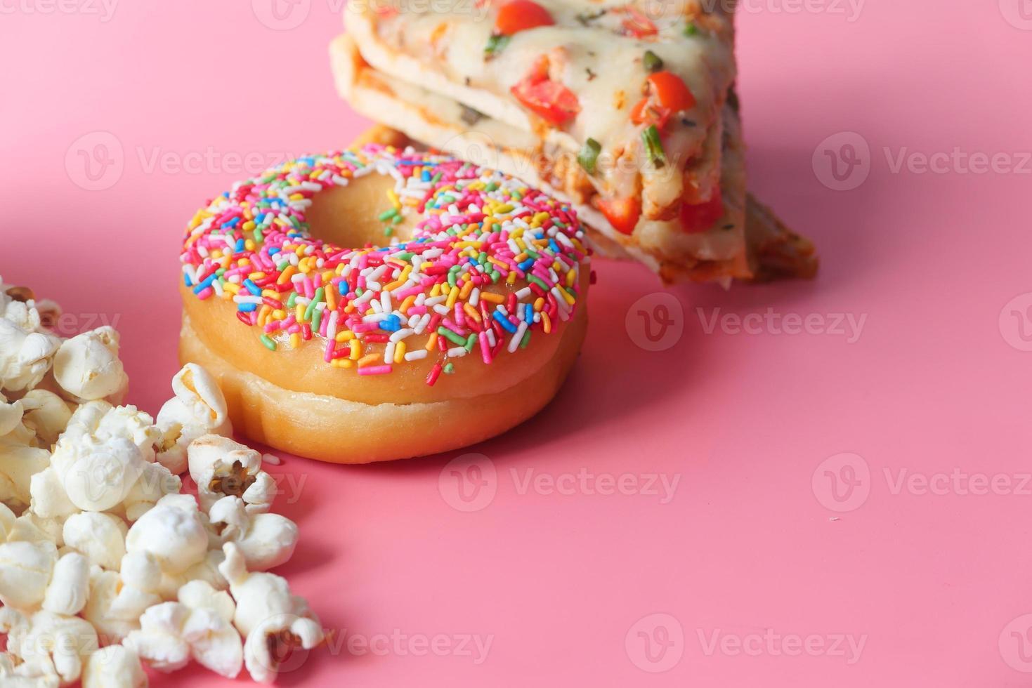 conceito de junk food foto