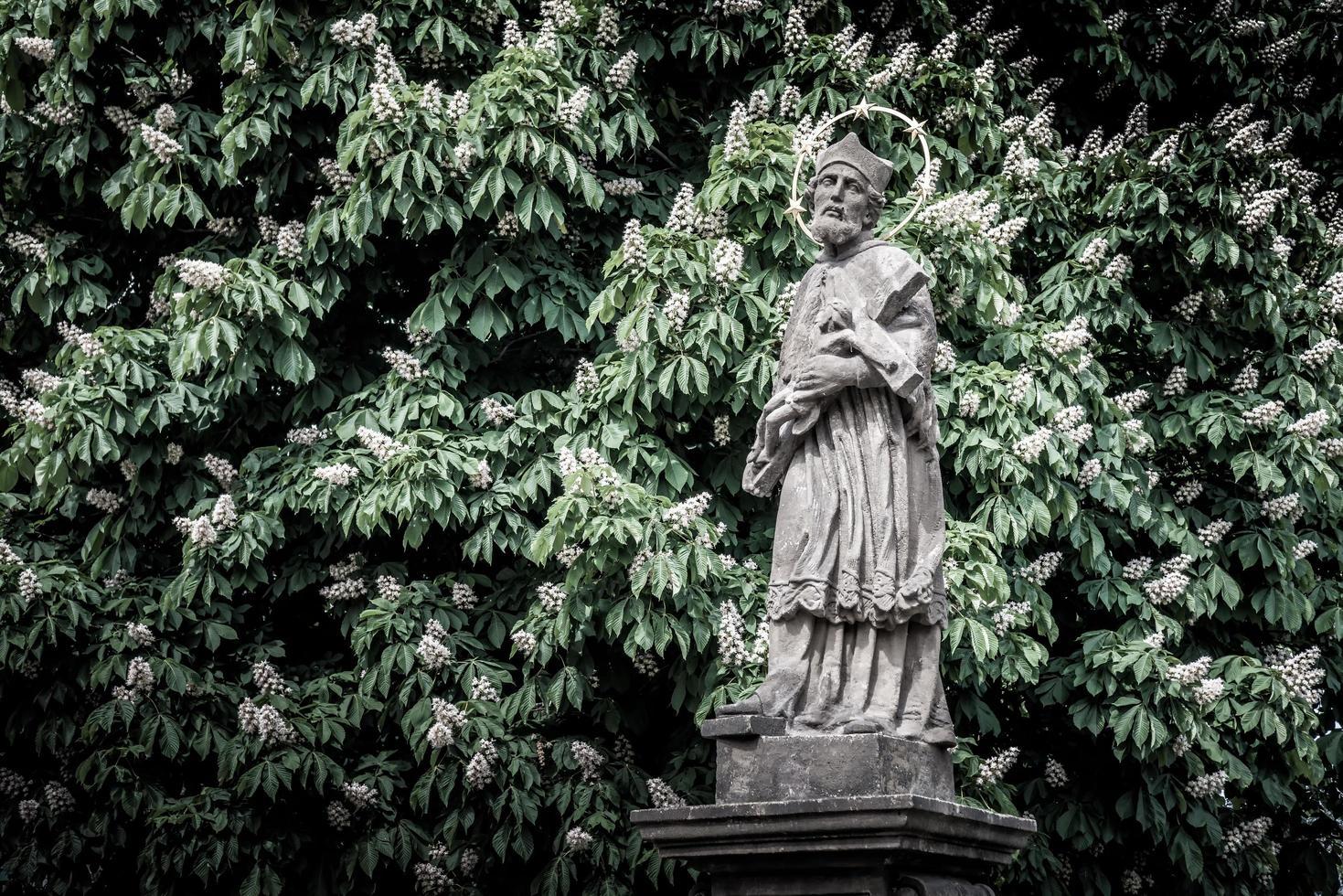 república checa 2017 - estátua de john of nepomuk foto