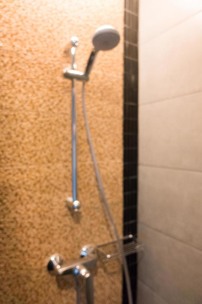 fundo borrado do banheiro foto