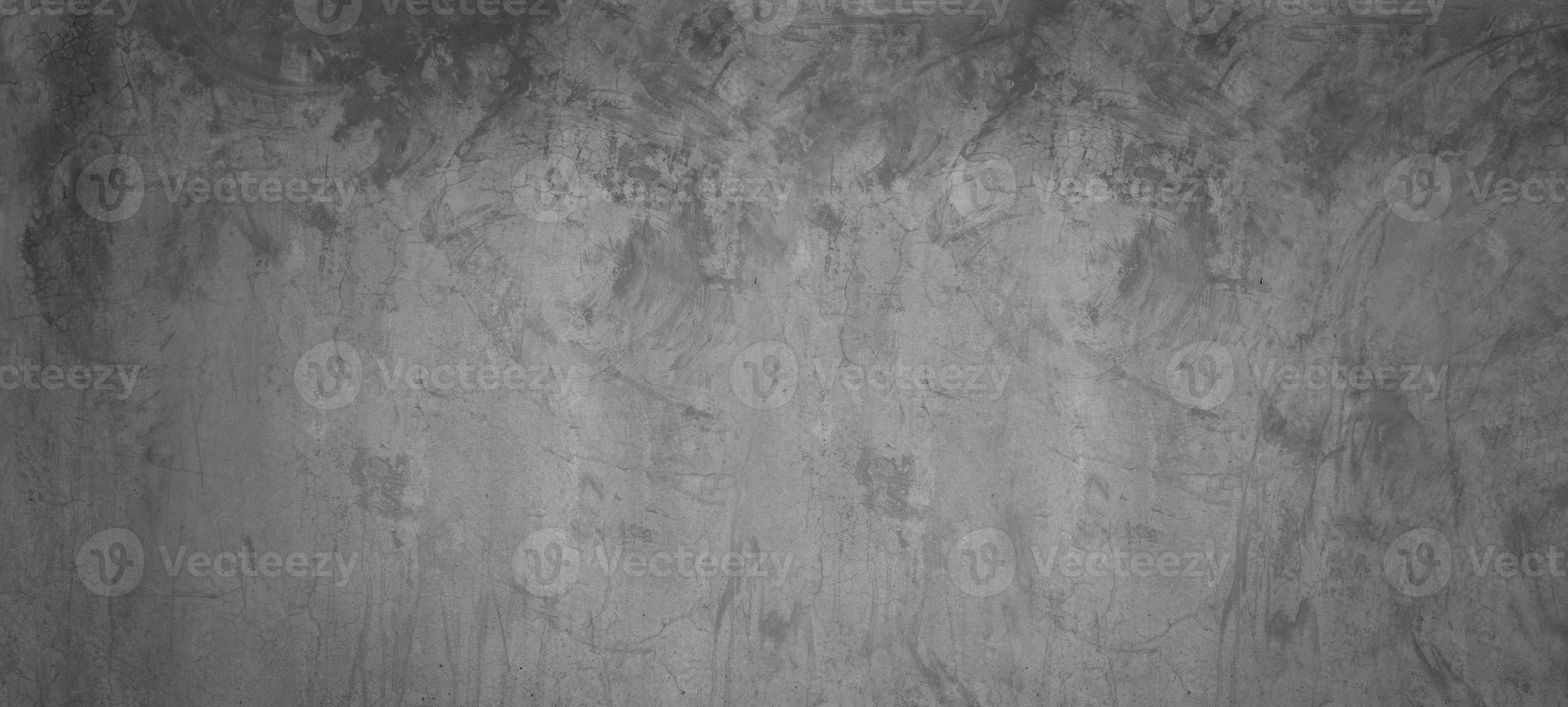 cimento cinza e preto ou parede de concreto para plano de fundo ou textura foto