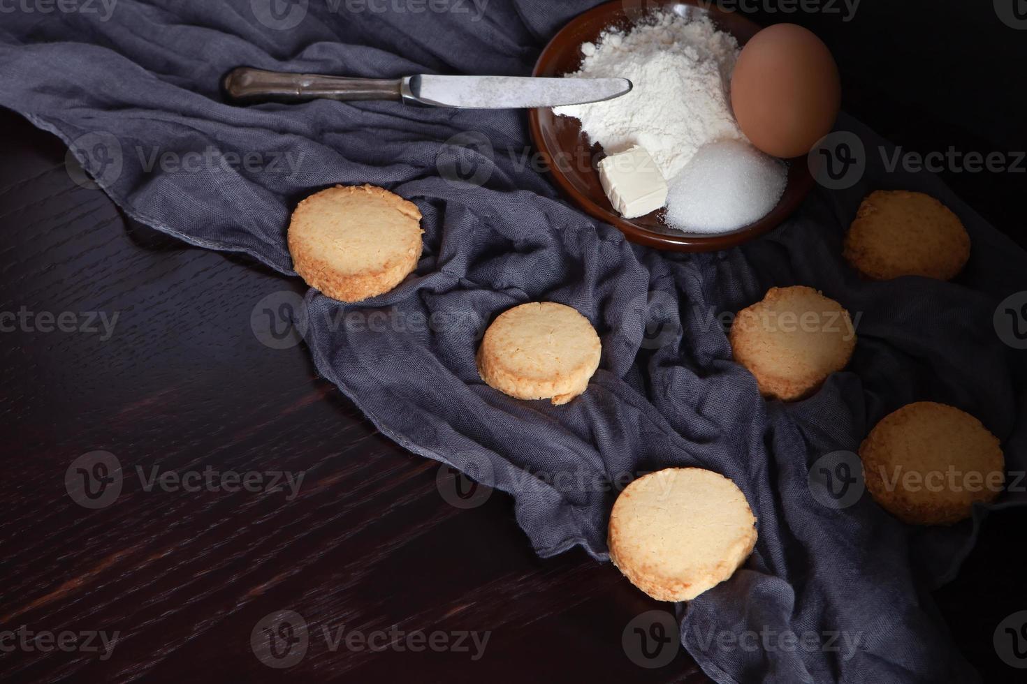 biscoitos caseiros tradicionais e naturais foto