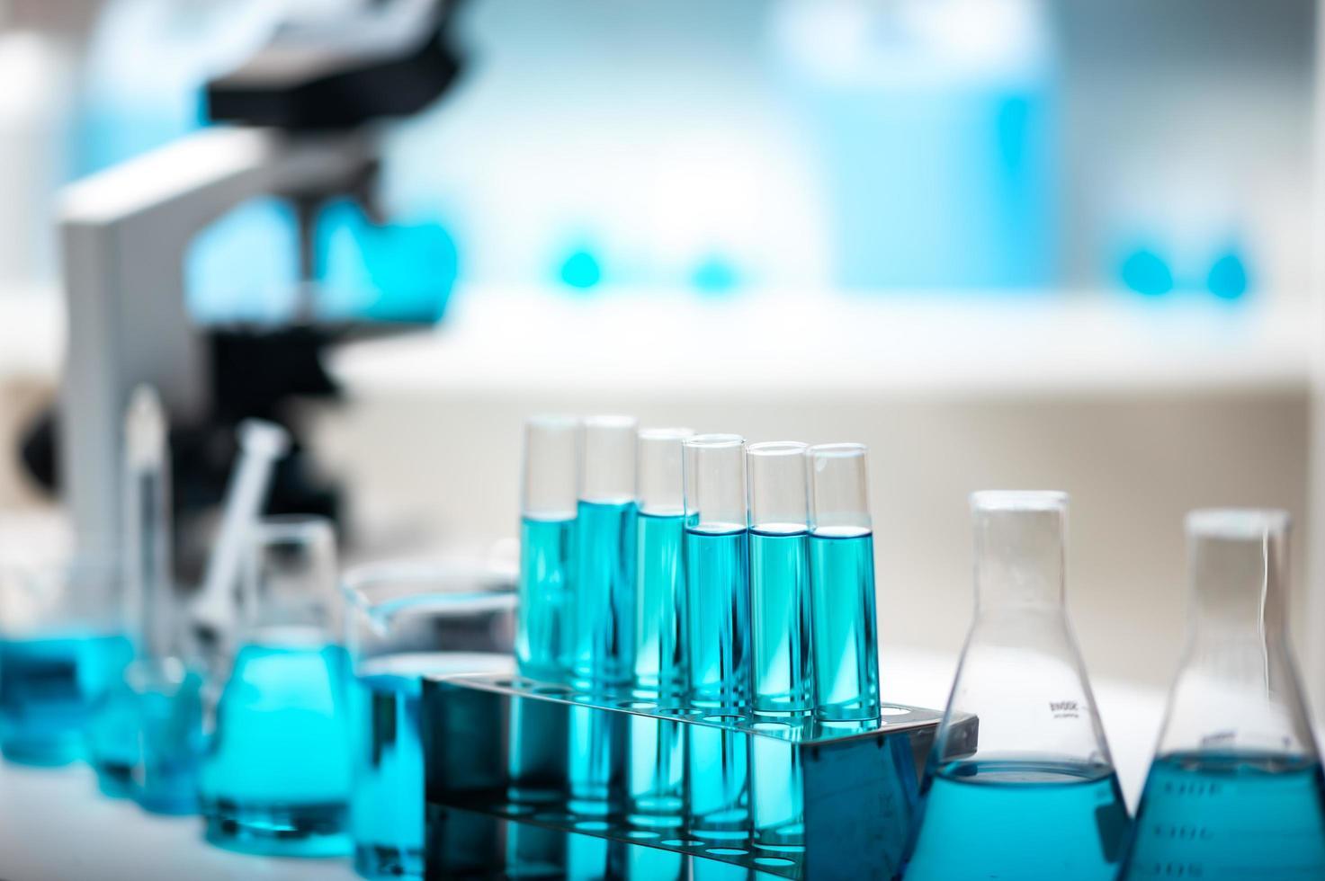 close-up de equipamento de laboratório foto