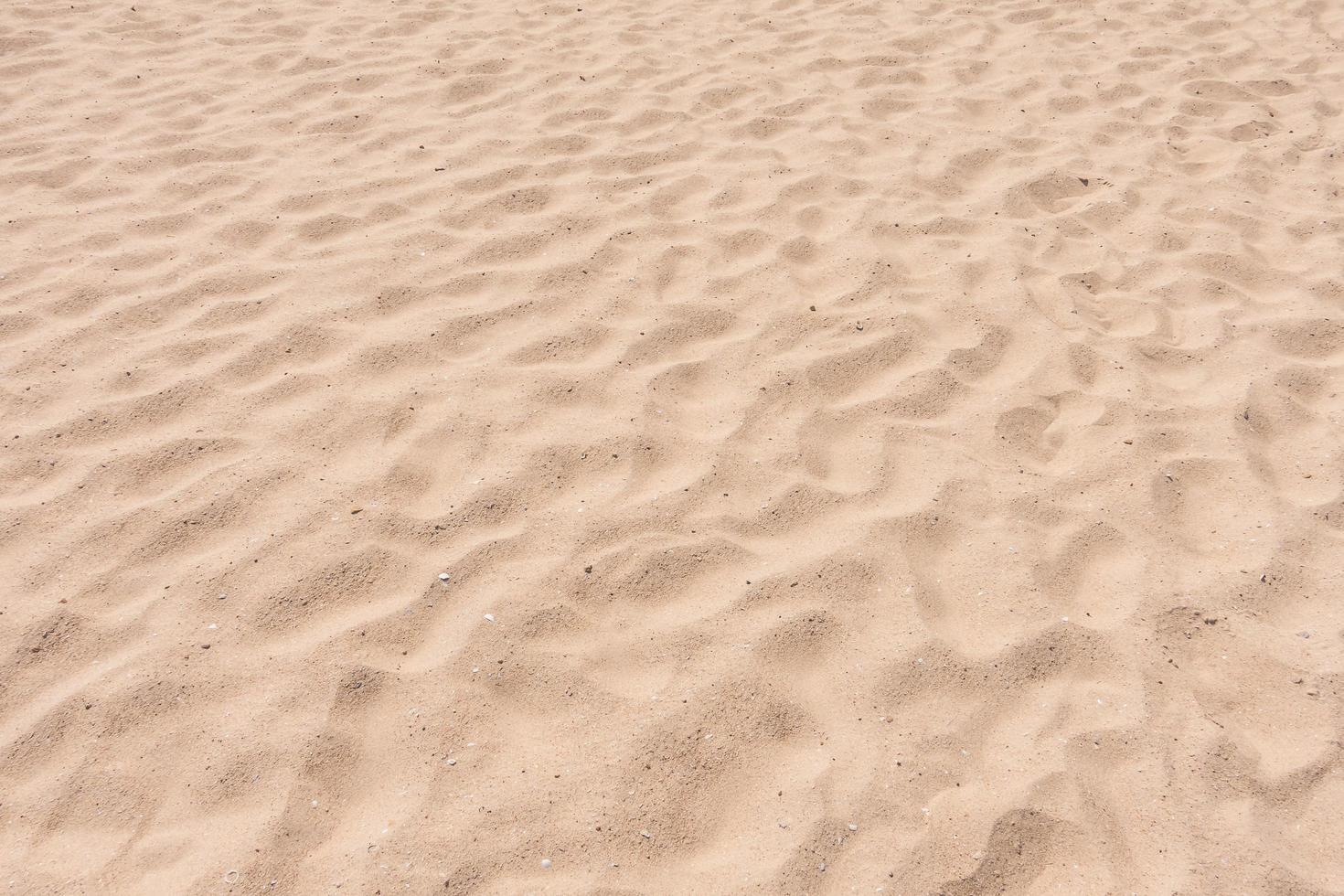 texturas de areia vazias foto