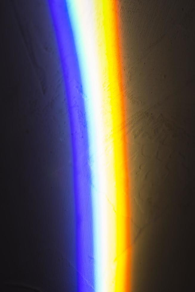 fundo colorido de reflexão de prismas de luz foto