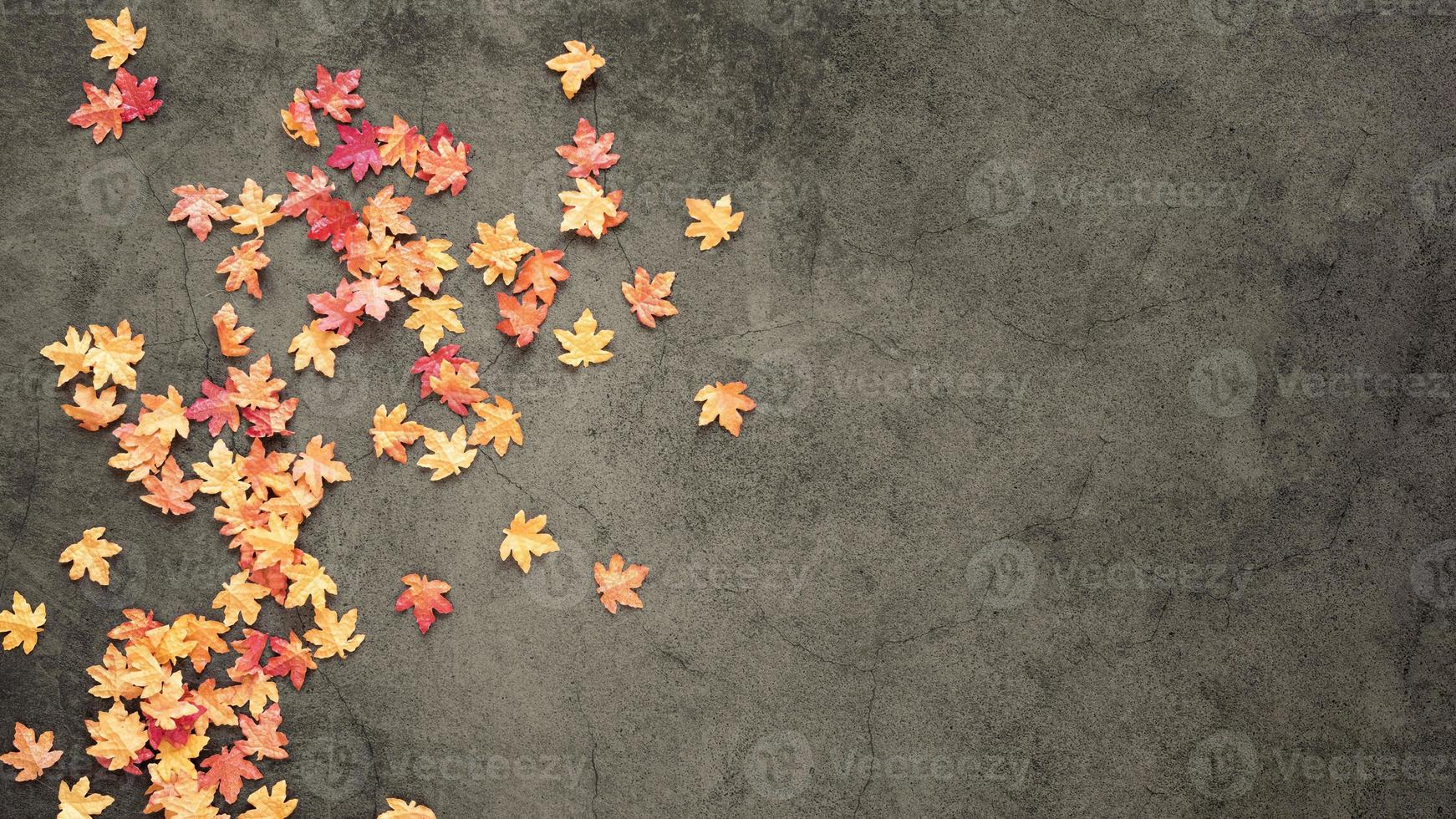conceito de bela natureza plana leigos com espaço de cópia foto
