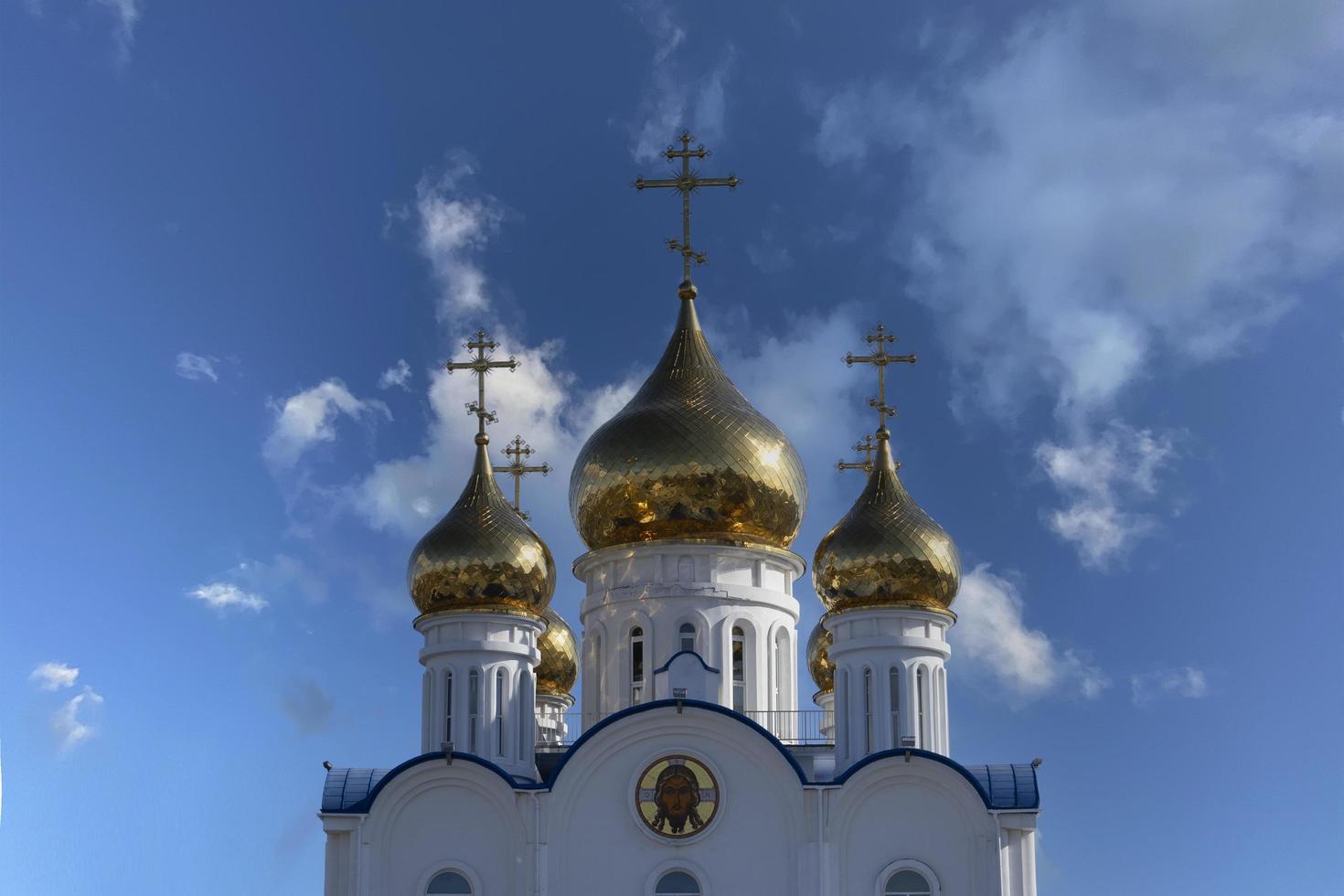catedral ortodoxa russa - petropavlovsk-kamchatsky foto