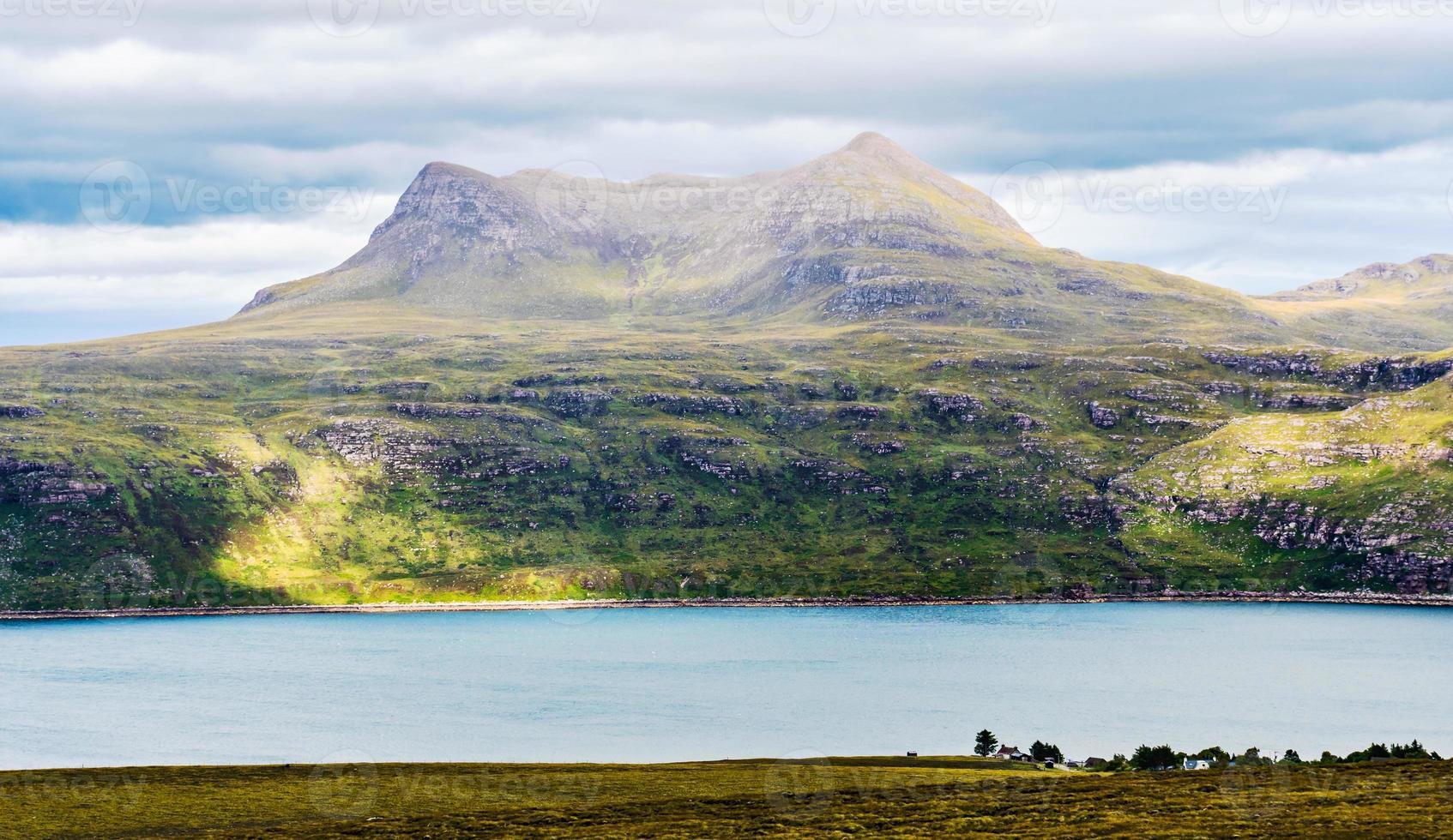 vista panorâmica na Escócia foto