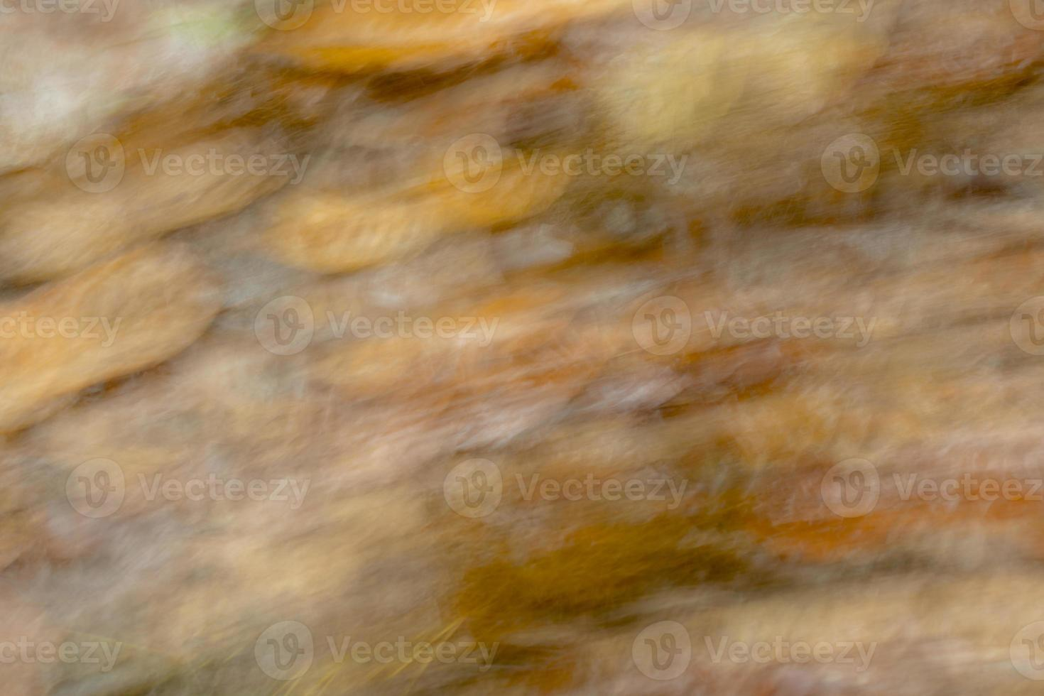 fundo desfocado de cores marrons outonais brilhantes foto
