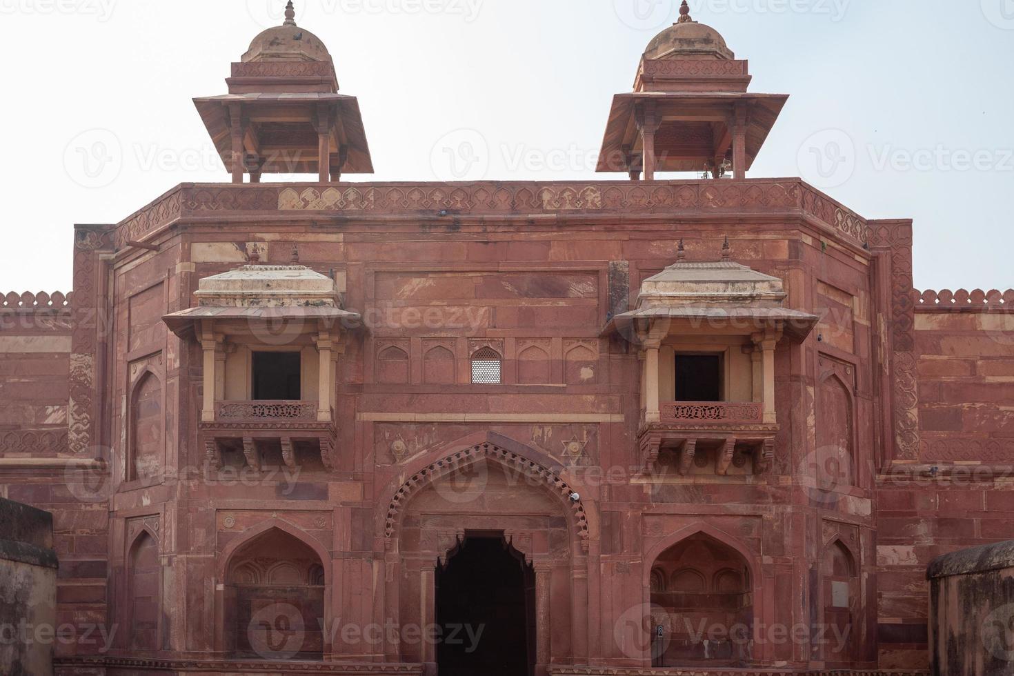 Forte Fatehpur Skiri em Uttar Pradesh, Índia foto