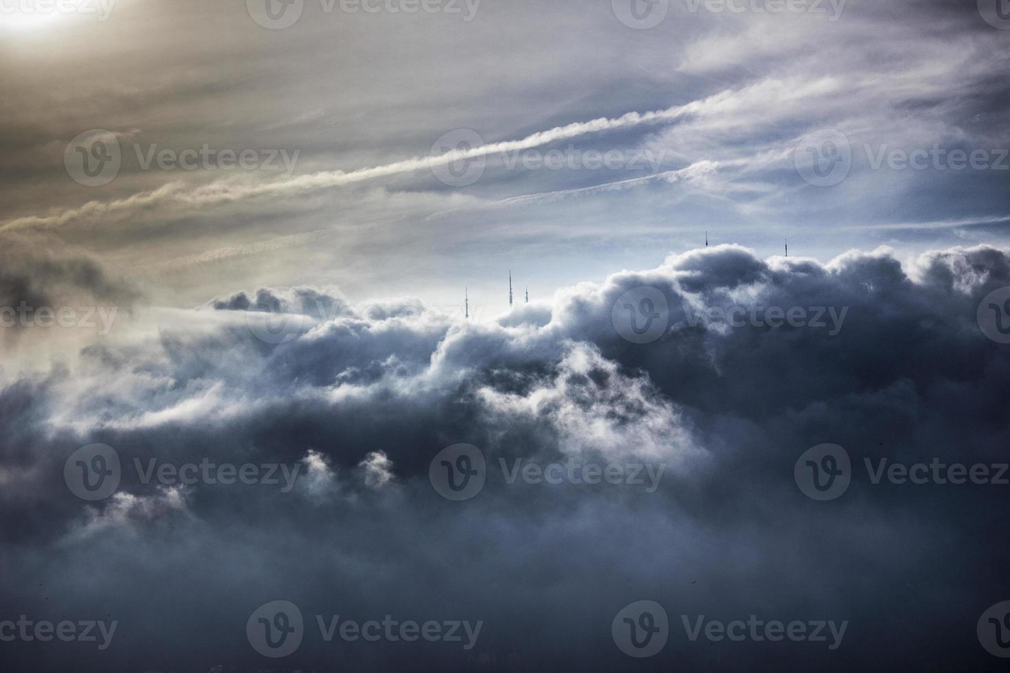nuvens no rio de janeiro foto