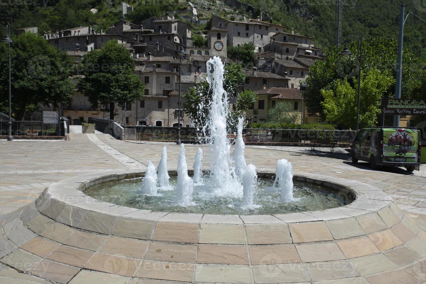 paisagem da província de Scheggino de Perugia foto
