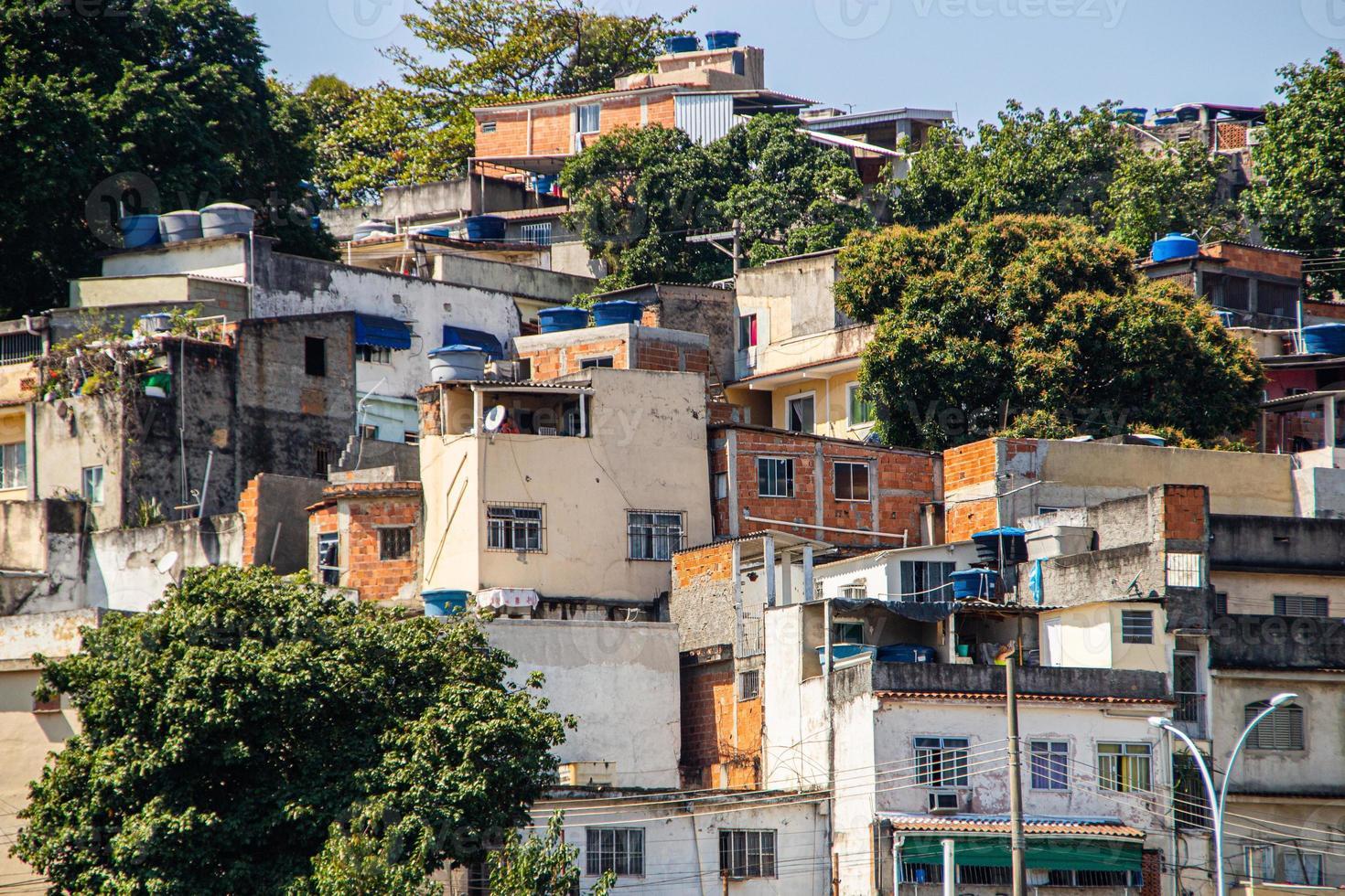 colina da coroa localizada no bairro do catumbi no rio de janeiro. foto