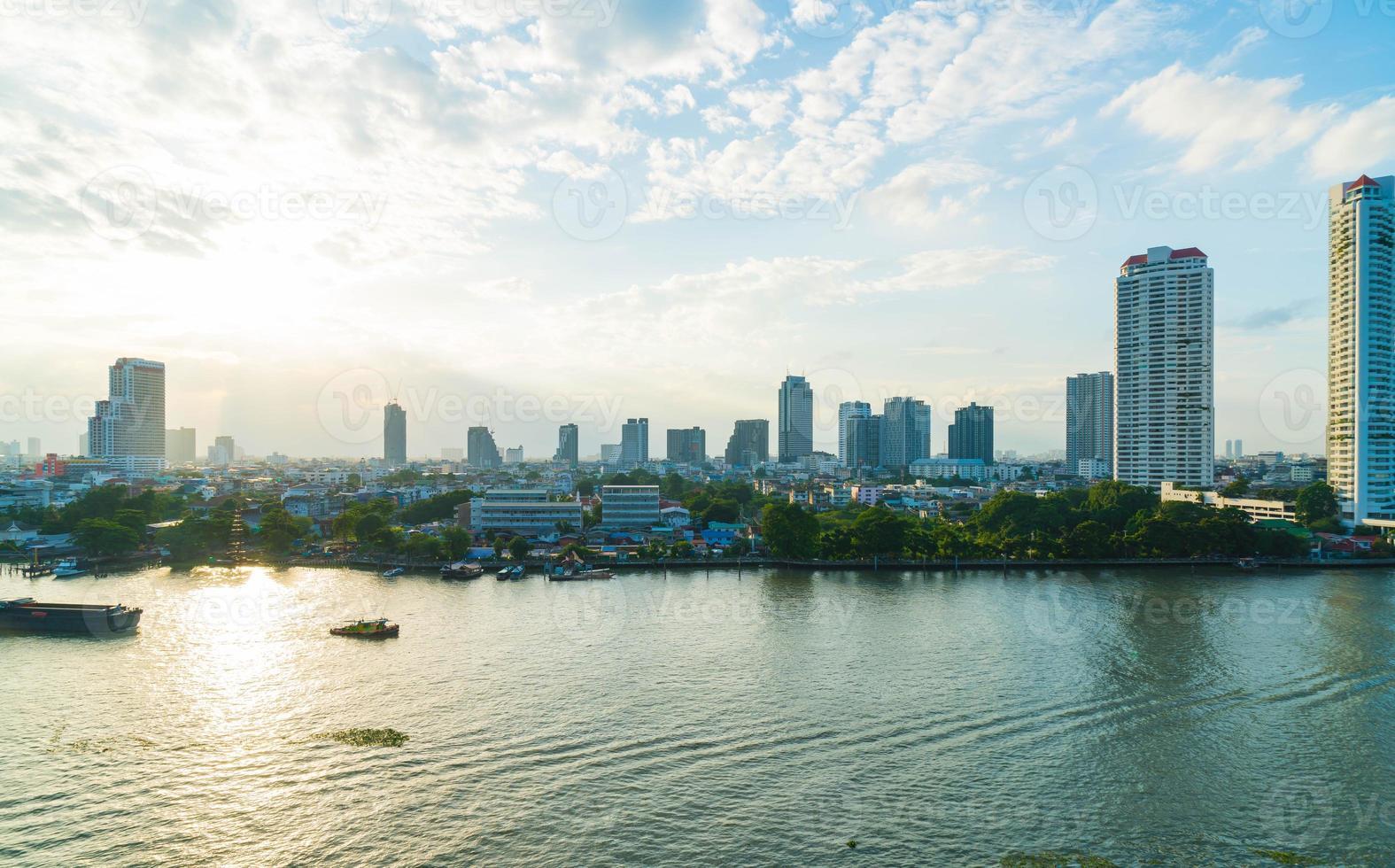 cidade de bangkok na tailândia foto