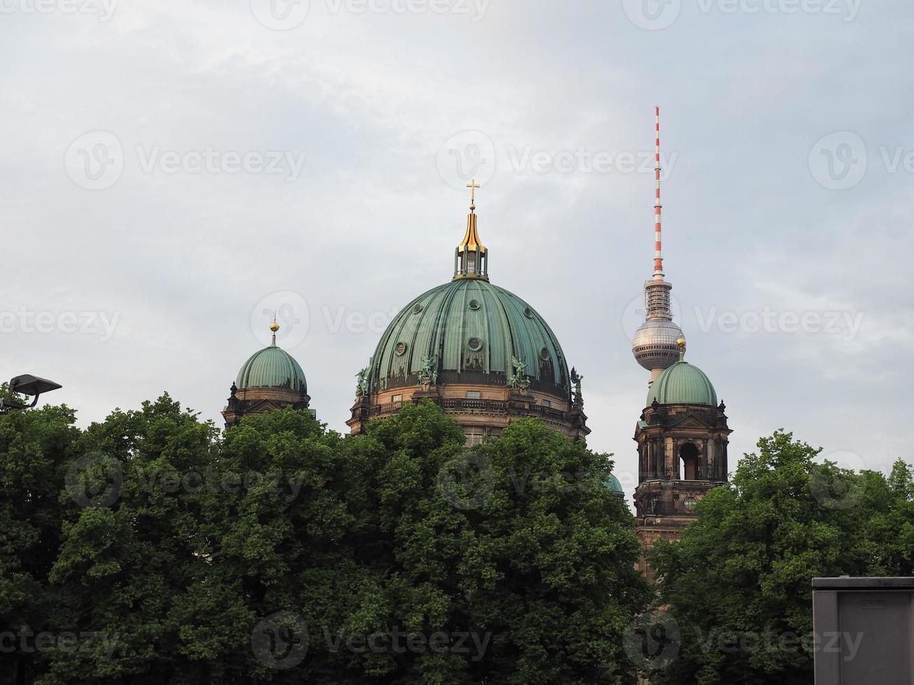 berliner dom em berlim foto