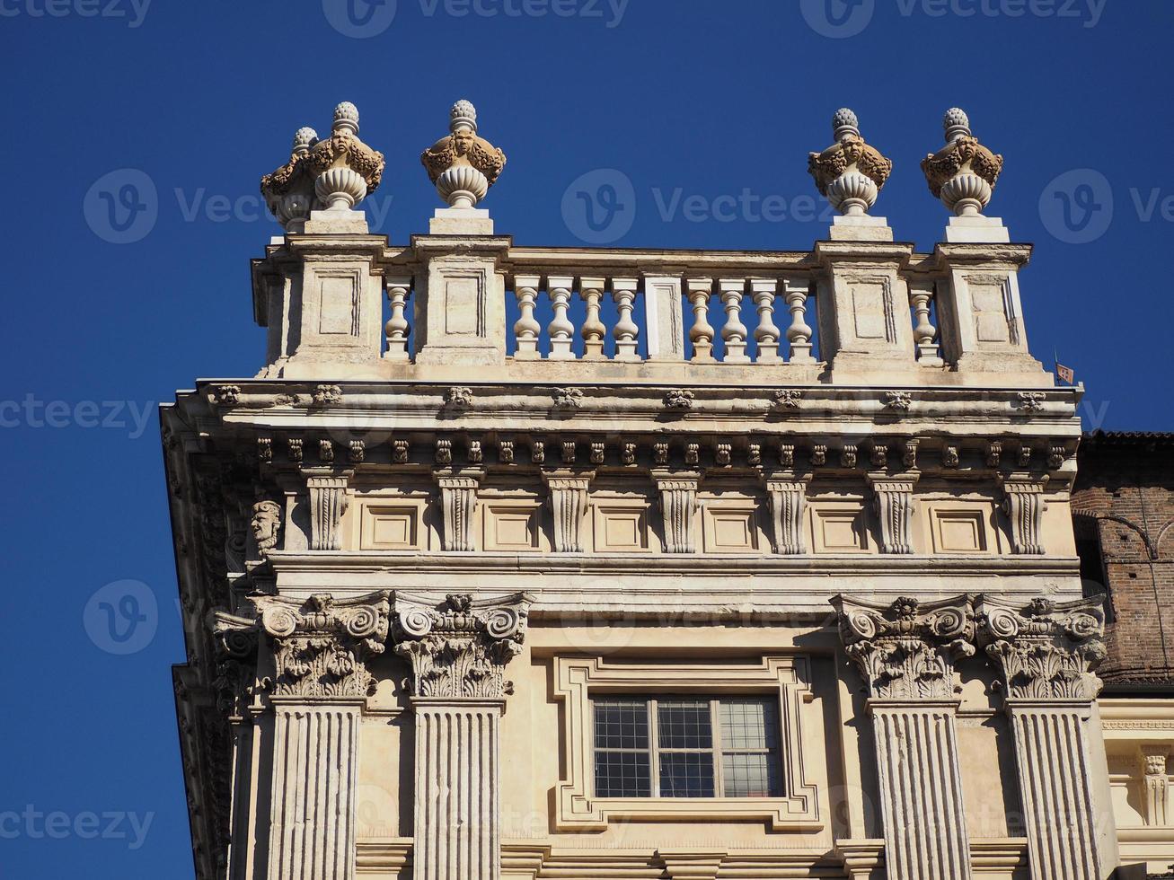 palácio madama em turin foto