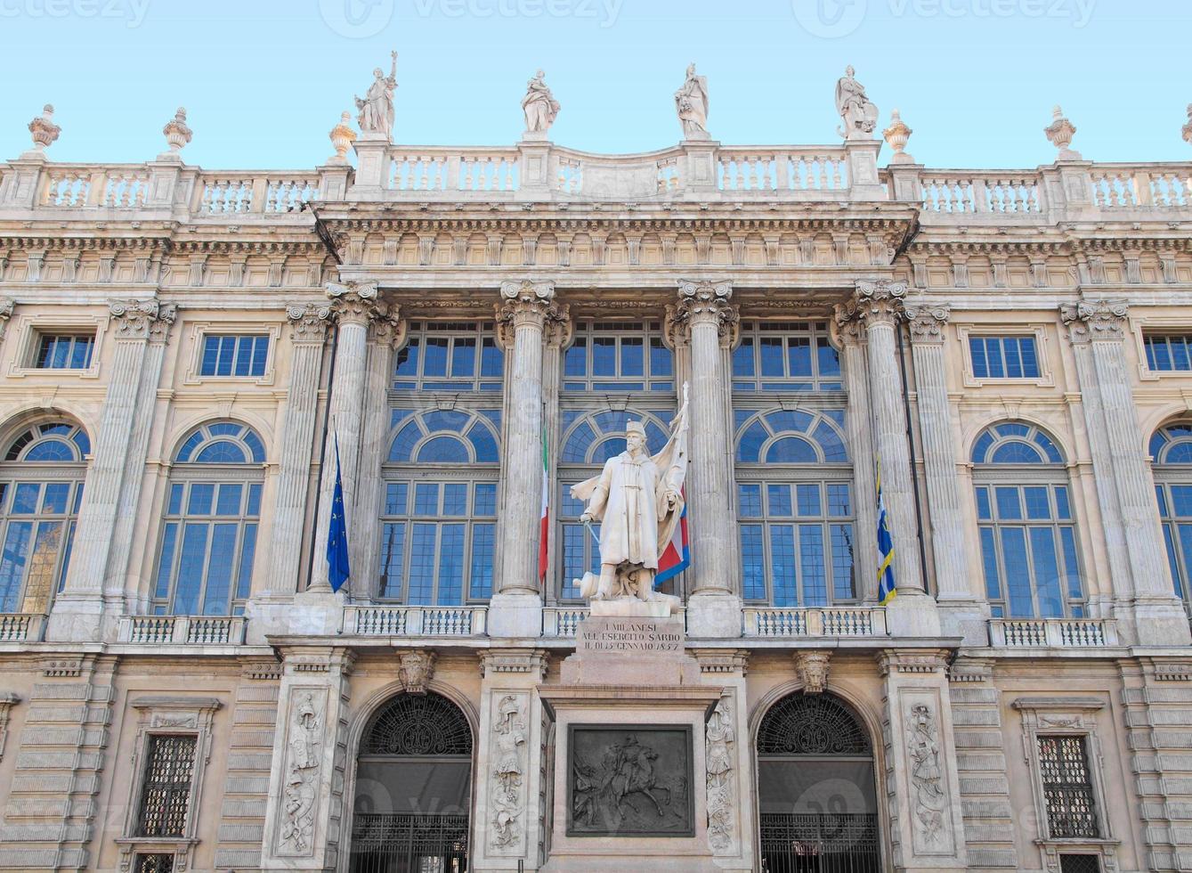palazzo madama, turin foto
