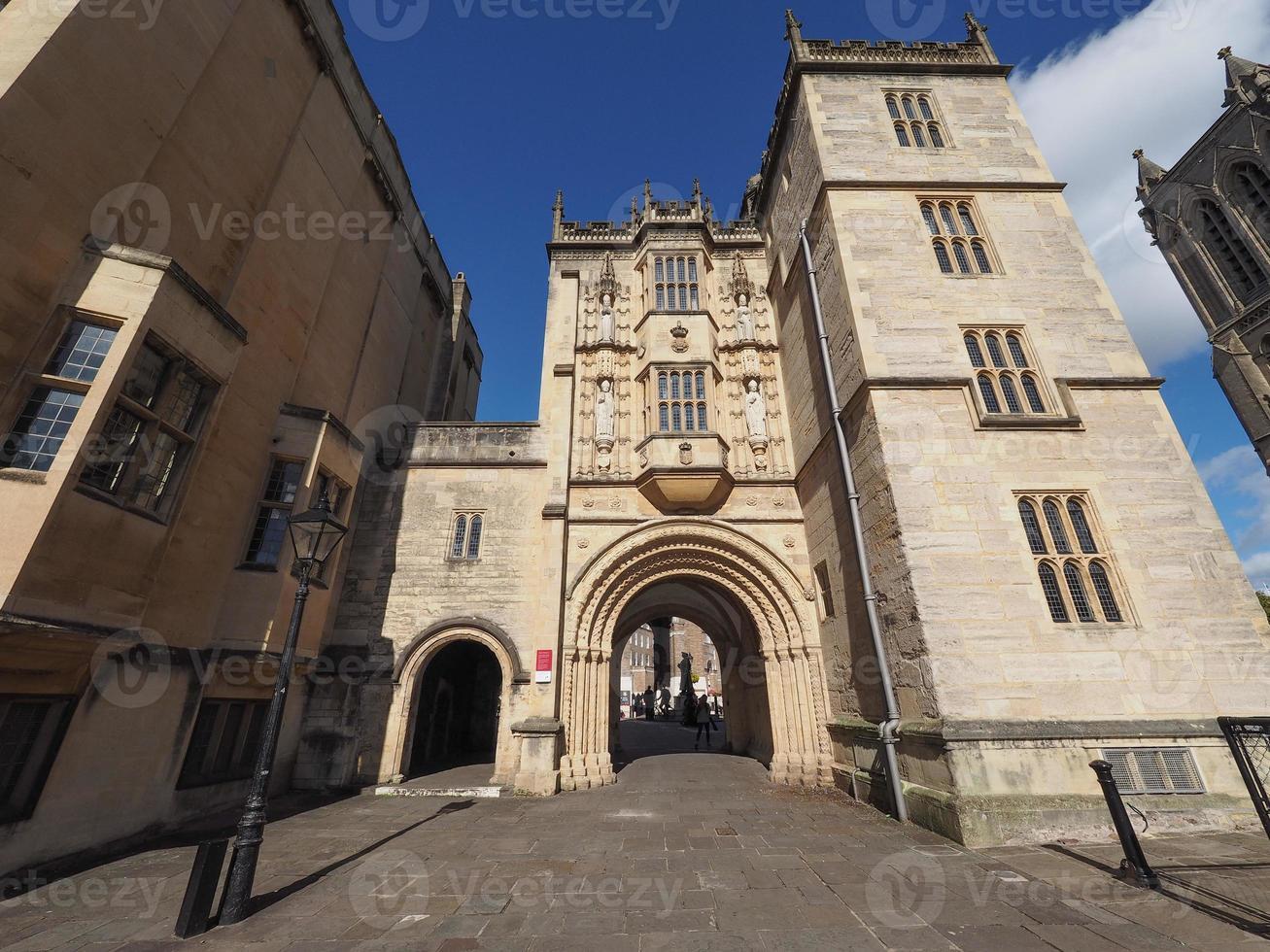 grande portaria abadia portaria em bristol foto