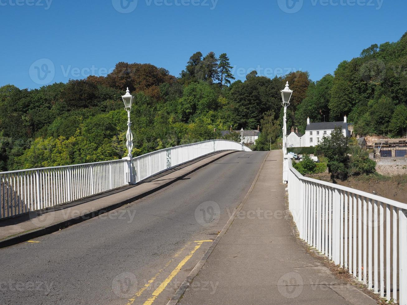ponte wye velha em chepstow foto