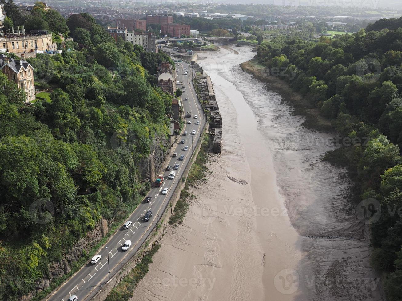 desfiladeiro do rio avon em bristol foto