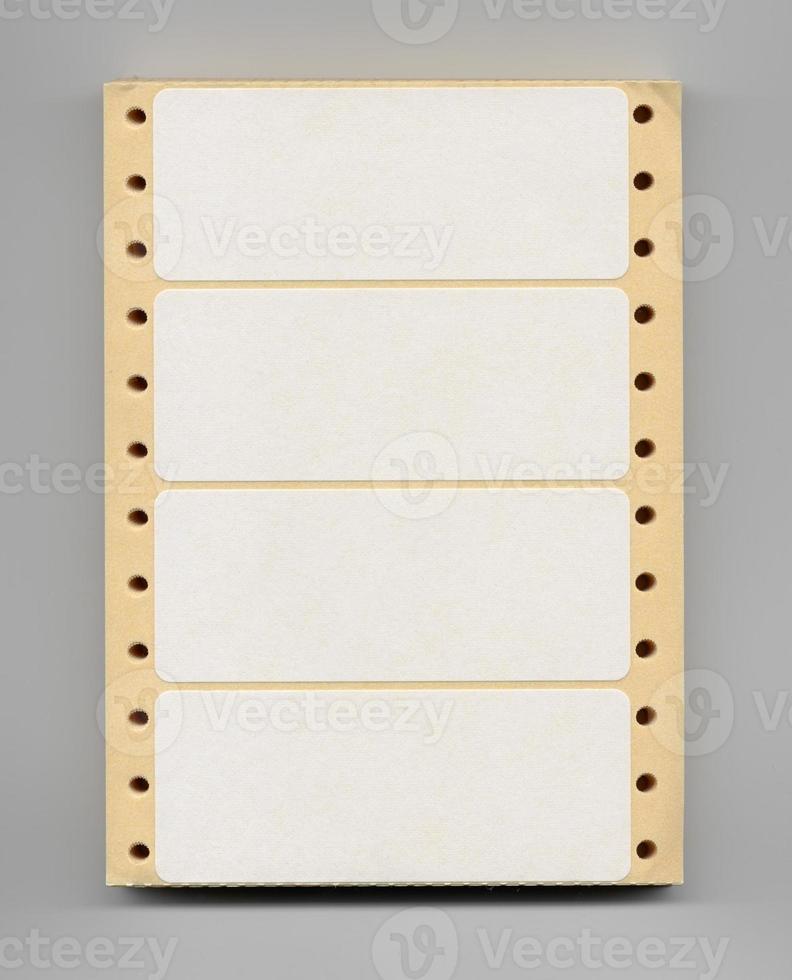 papelaria de etiquetas de adesivos foto