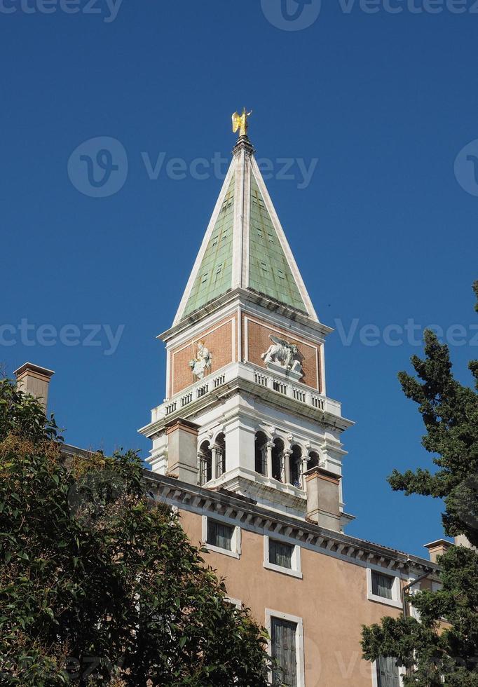 Praça São Marcos em Veneza foto