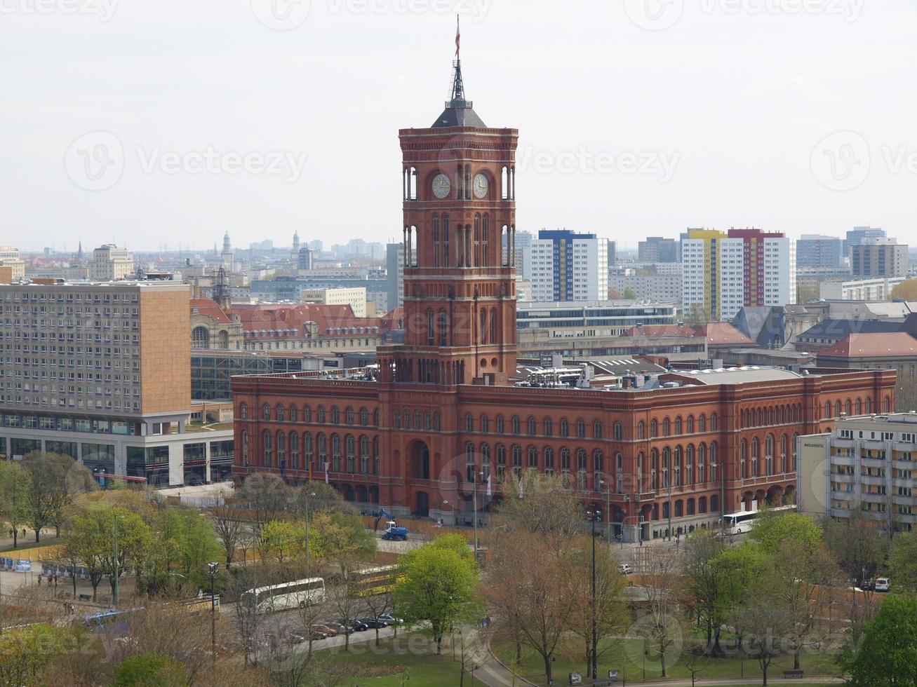 Rotes Rathaus, Berlim foto
