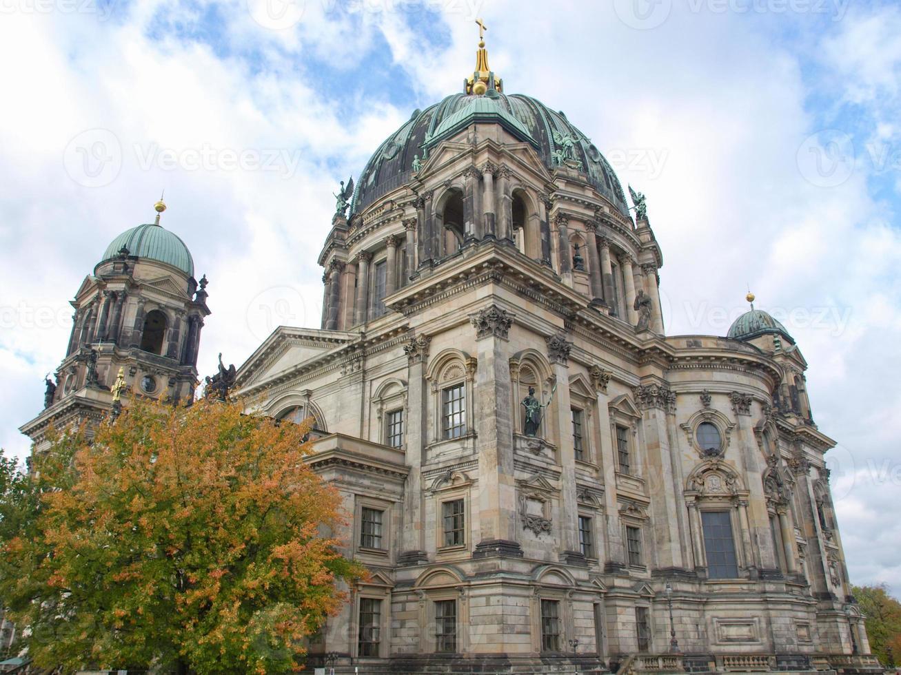 catedral dom berliner em berlim foto