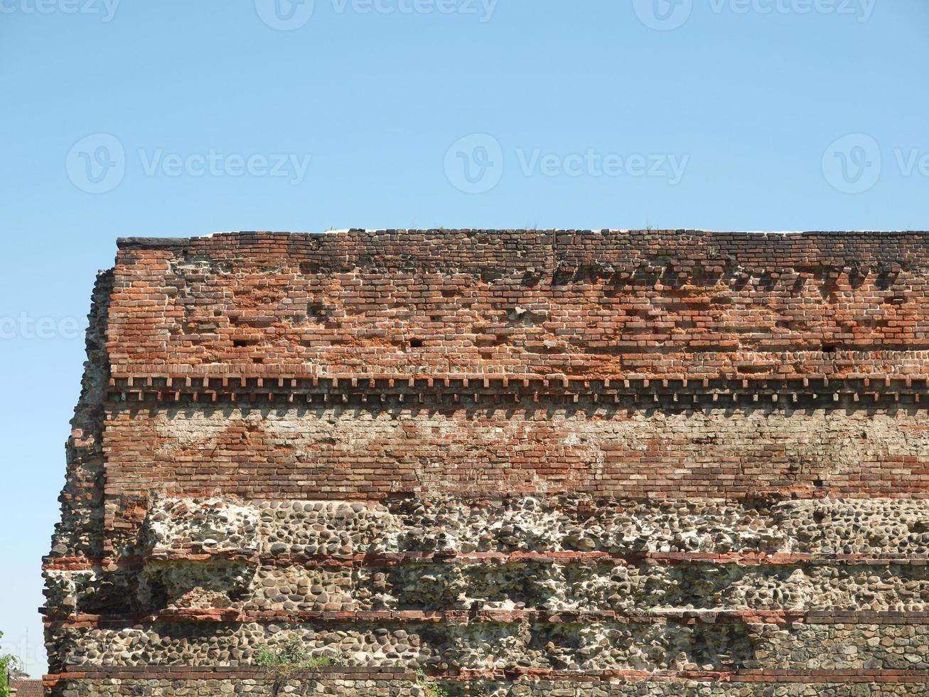 parede romana, turin foto