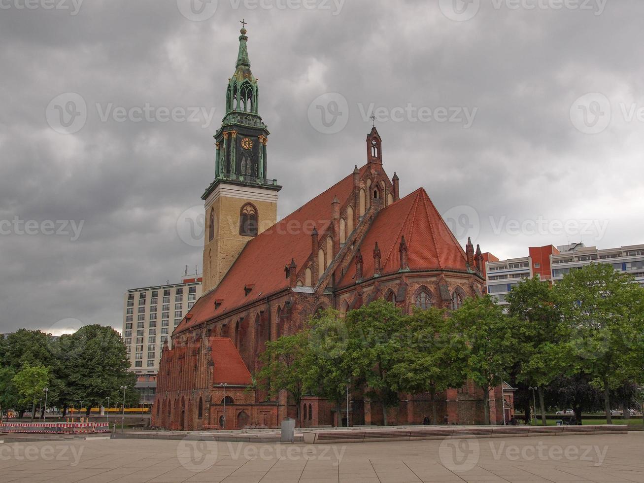 marienkirche em berlim foto