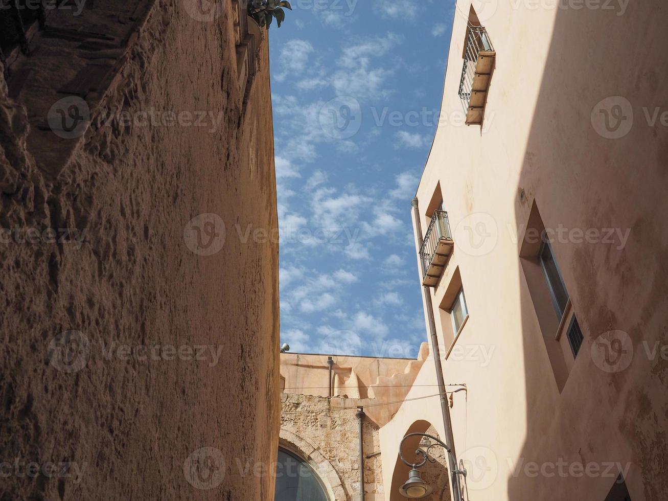 casteddu significa bairro do castelo em cagliari foto