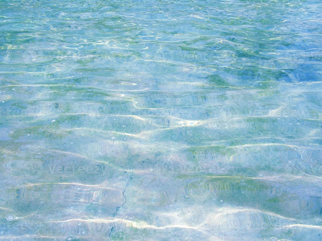 fundo de água azul verde foto