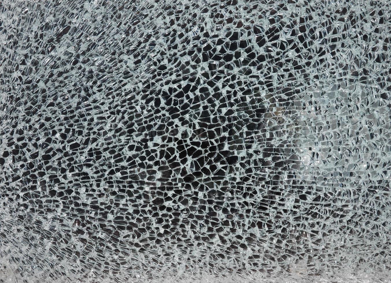 fundo de vidro quebrado foto