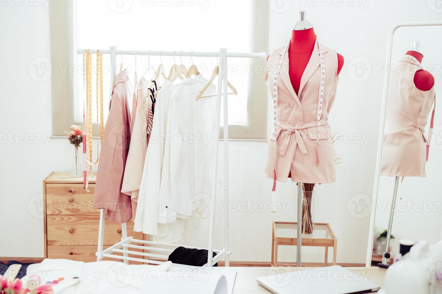 workshop de estúdio showroom de designer de moda foto