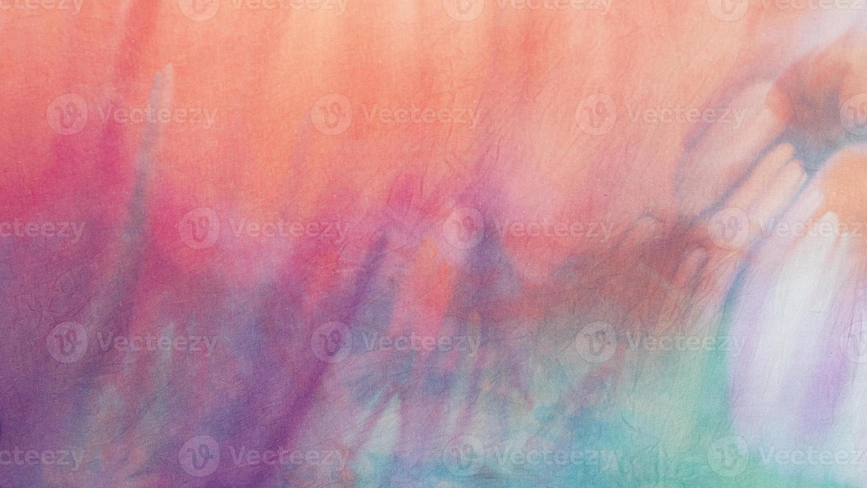 superfície de tecido tie dye multicolorido foto