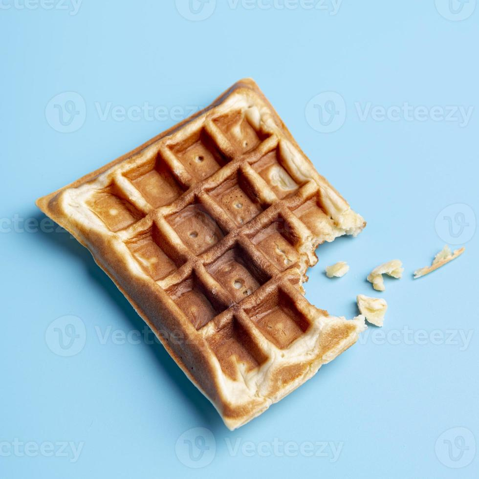 waffle com mordida foto