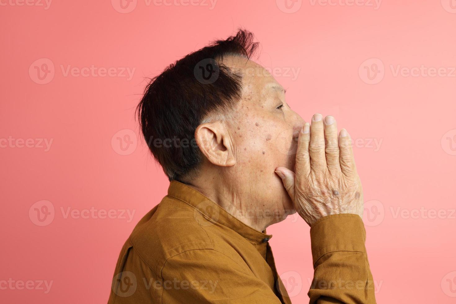 retrato de homem asiático foto