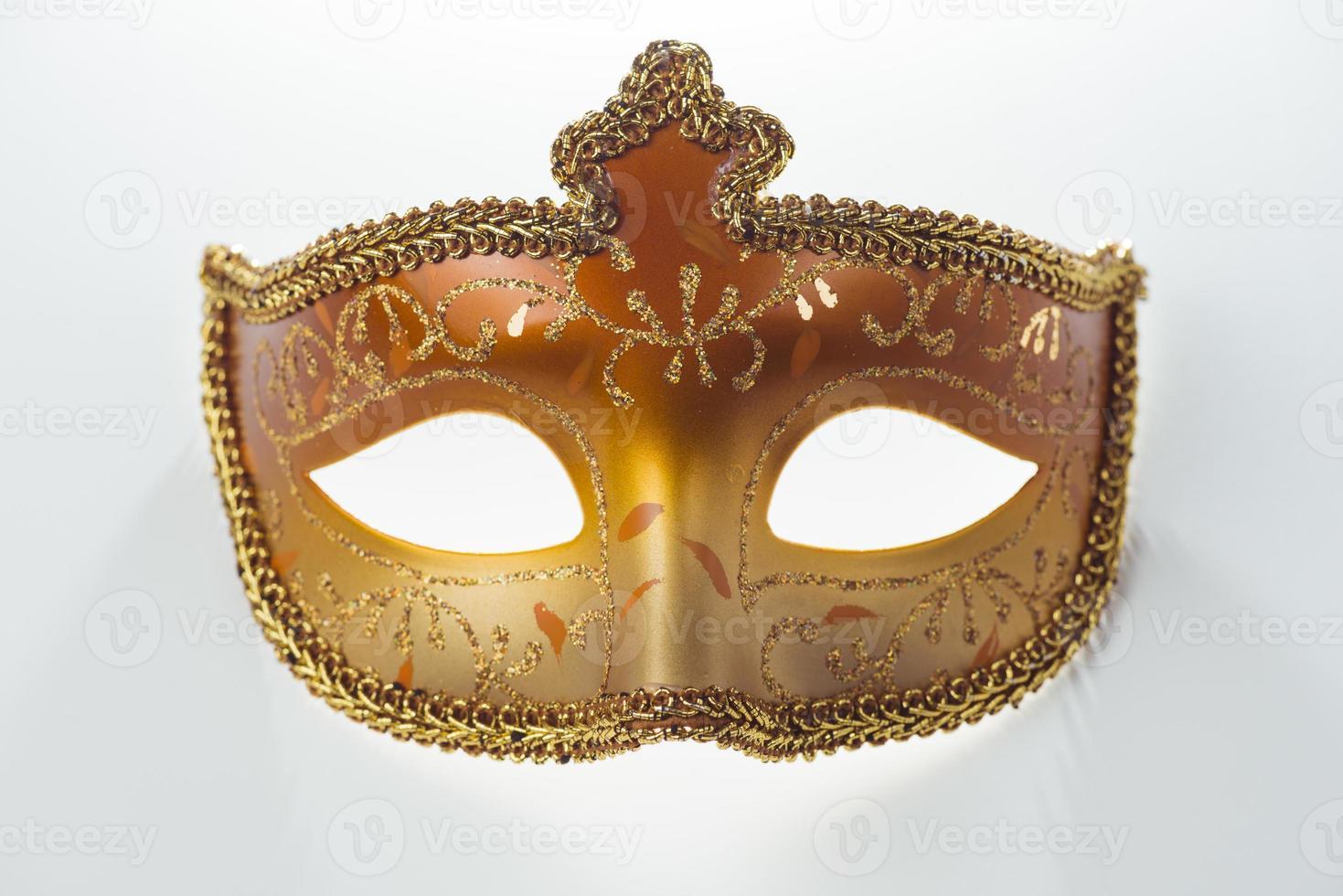 linda máscara de carnaval foto