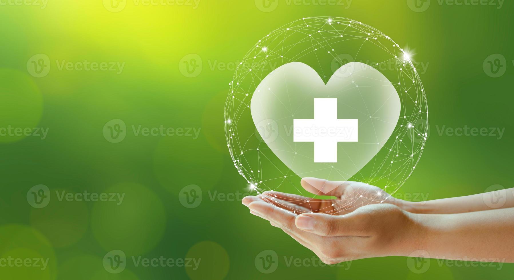 seguro de vida familiar, seguro de assistência médica e conceitos saudáveis de negócios. foto