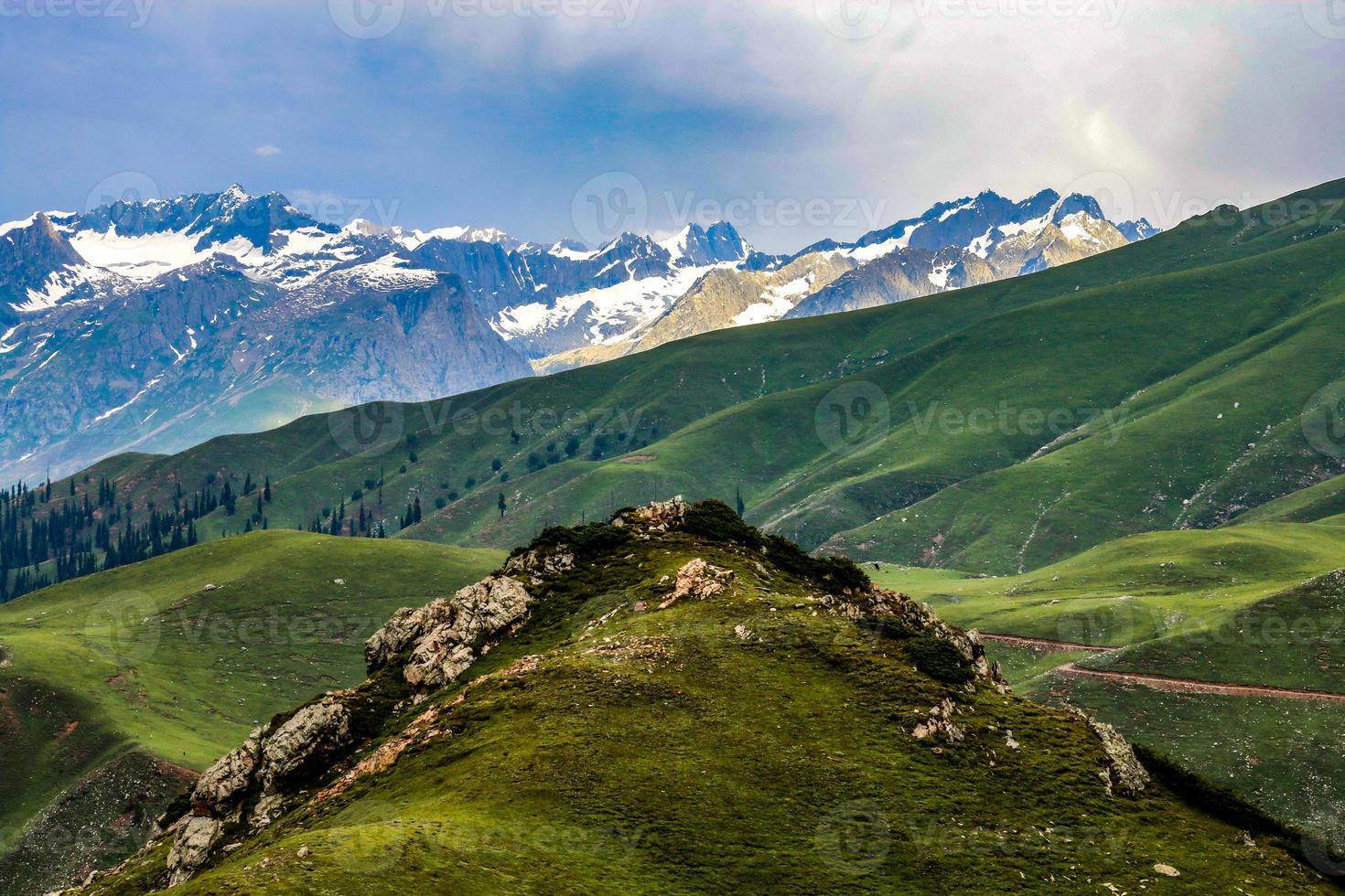 Batcondi Kumrat Valley Beautiful Landscape Mountain View foto